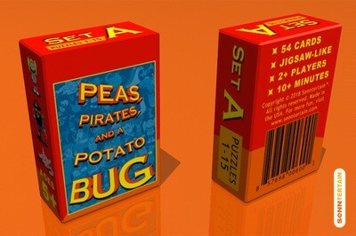 Peas, Pirates, and a Potato Bug