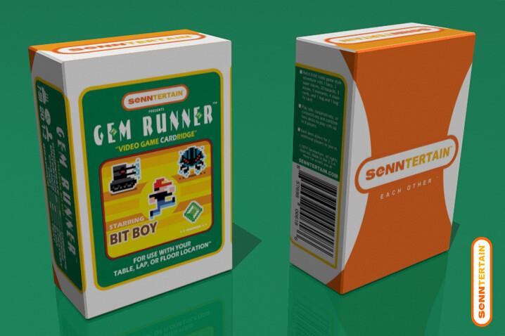 Gem Runner - Starring Bit Boy