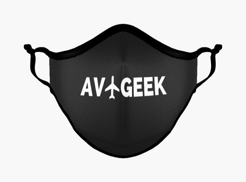 Premium Aviation Geek Traveler Mask