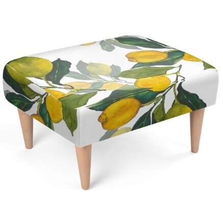 Lemon Grove Sustainable Footstool