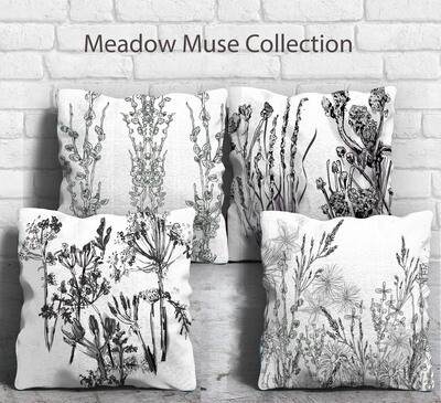 Meadow Muse Cushion  Designer Collection set of four