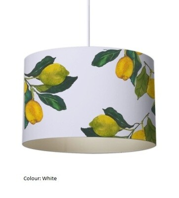'Lemon Grove' Organic Lampshade