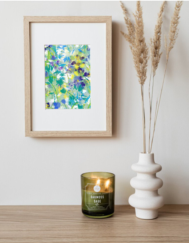 'Hedgerow' Beautiful Abstract Depiction Wall Art