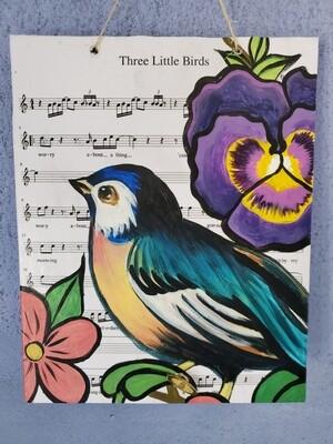Musical Bird Painting