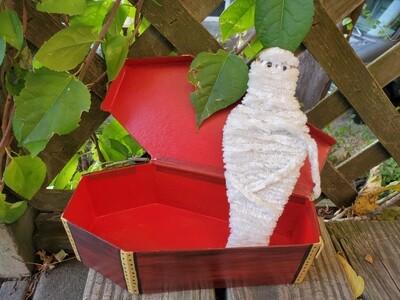 Mummy in a Coffin