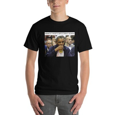 Obama Sipping Tea Short Sleeve T-Shirt