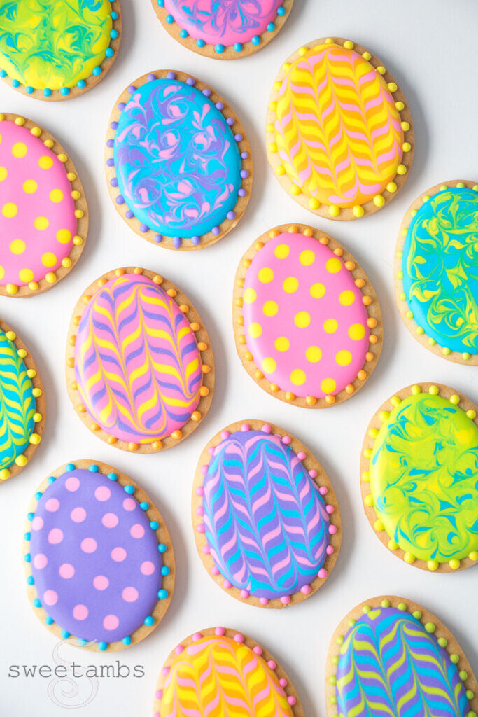 Mommy & Me: Royal Icing Easter Cookies