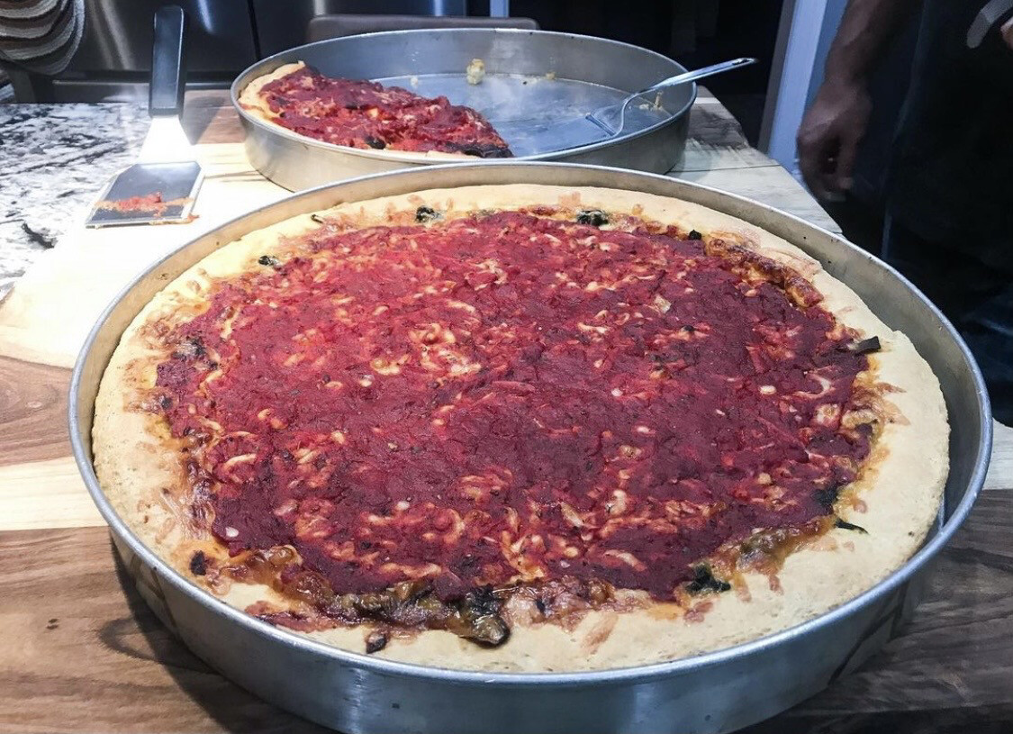 Deep Dish Pizza Class, March 20