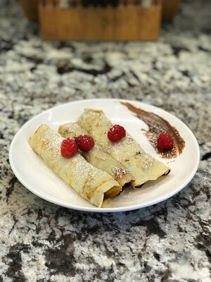 PJs and Crepes: Cinnamon Toast Crunch Crêpes