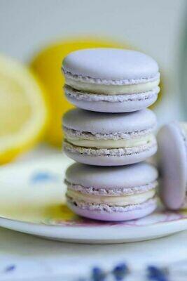Saturday, June 19: Lavender Lemon Macarons