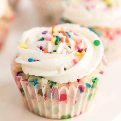 Saturday, August 21, 2021: American Girl Doll Funfetti Cupcakes