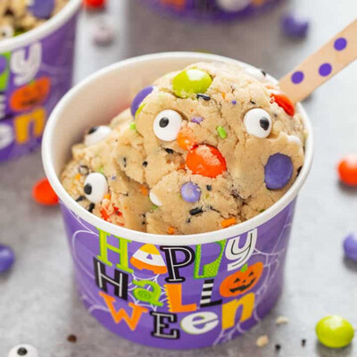 Friday, October 22: Edible Monster Cookie Dough