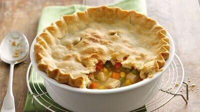 Saturday, November 20: Chicken Pot Pie