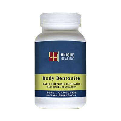 Unique Healing® Body Bentonite Capsules