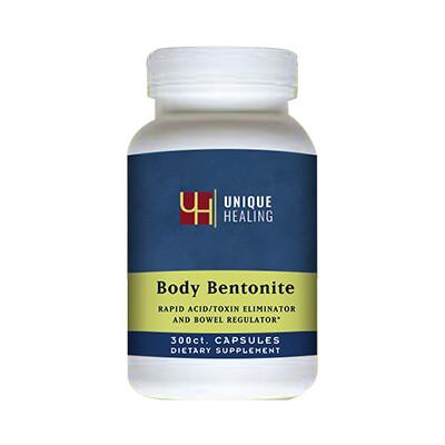 Unique Healing® Body Bentonite Capsules