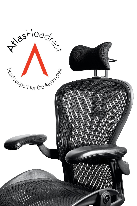 Atlas Cushion Headrest for Herman Miller Aeron Chair