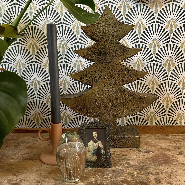 Kerstboom Brass Gold