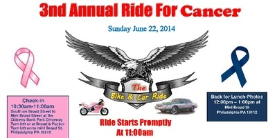3nd Annual Ride For Cancer