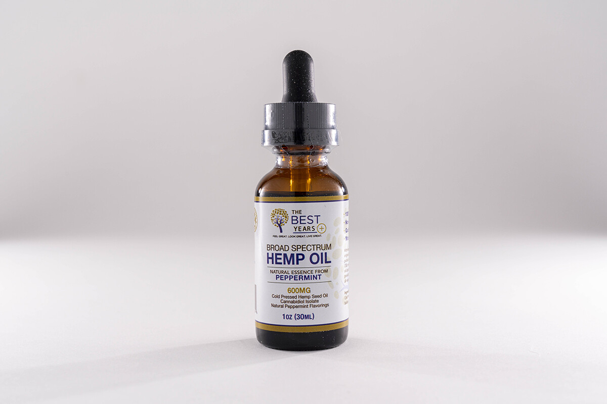 The Best Years Tincture 600 Peppermint