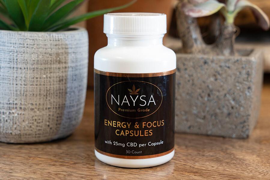 Naysa Energy & Focus Capsules