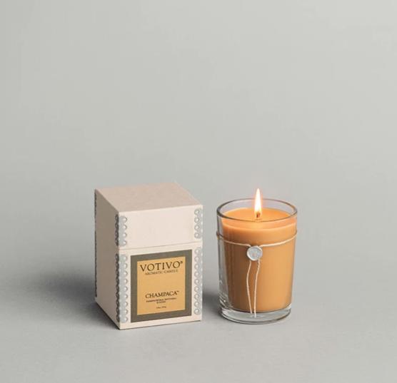 Votivo 6.8oz Aromatic Candle Champaca
