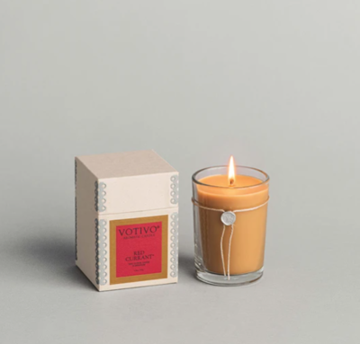 Votivo 6.8oz Aromatic Candle Red Currant