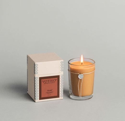 Votivo 6.8oz Aromatic Candle Teak