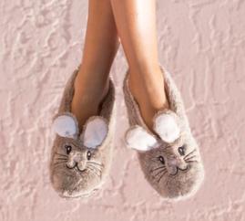 Snuggle Bunny Faceplant Footsies