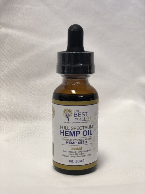 The Best Years Tincture 900 Peppermint