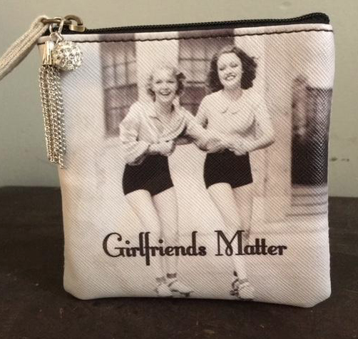 MY FAVORITE THINGS 'Girlfriends Matter' Coin Purse