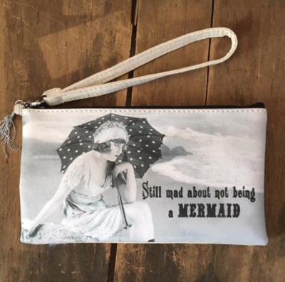 """MY FAVORITE THINGS  """"Mad Mermaid"""" Wristlet"""