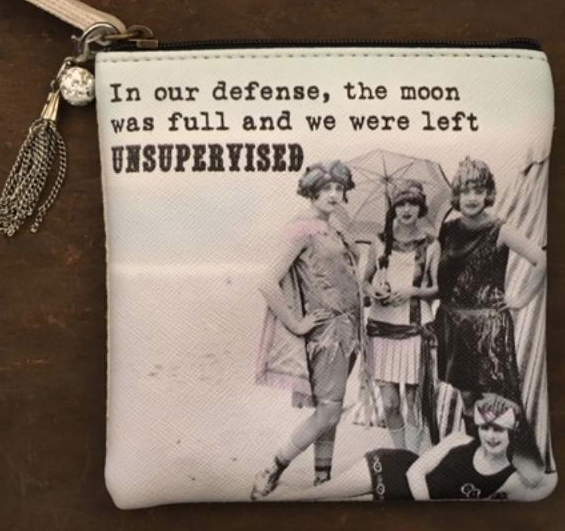 "MY FAVORITE THINGS ""Full Moon"" coin purse"