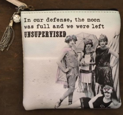 """MY FAVORITE THINGS """"Full Moon"""" coin purse"""