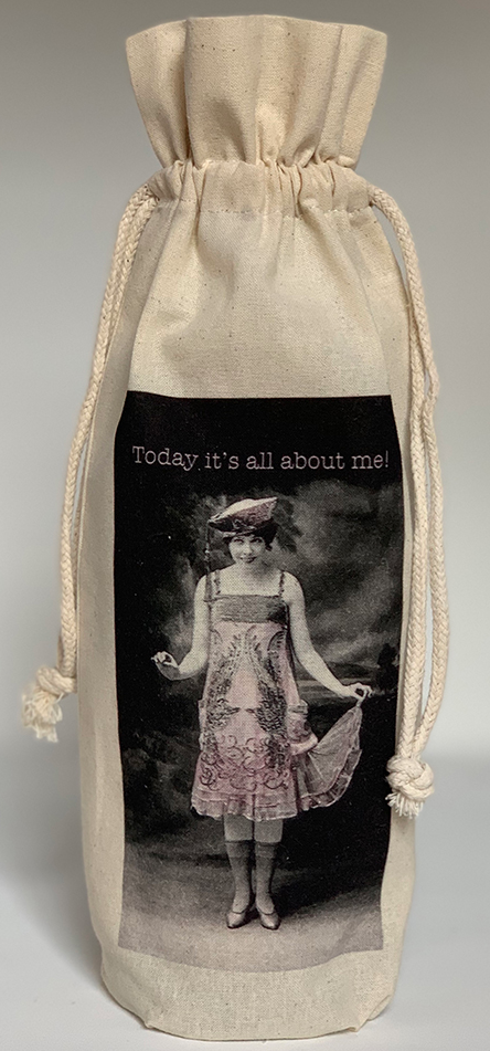 "MY FAVORITE THINGS ""All About Me"" Wine Bag"