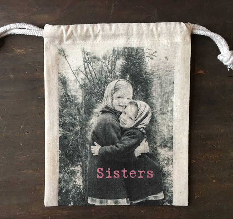 "MY FAVORITE THINGS ""Sister"" Drawstring Pouch"