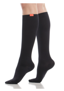 VIMandVIGR Compression Knee High Sock-Solid Black