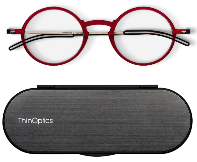 Frontpage Manhattan Reading Glasses and Milano Case