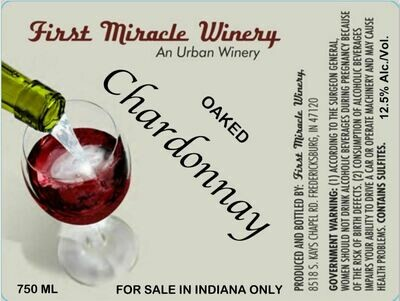 CHARDONNAY Oaked