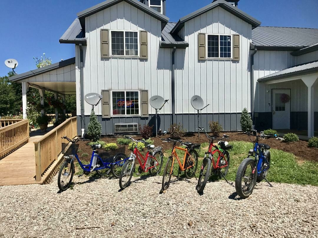 Electric bike ride to Beck's Mill