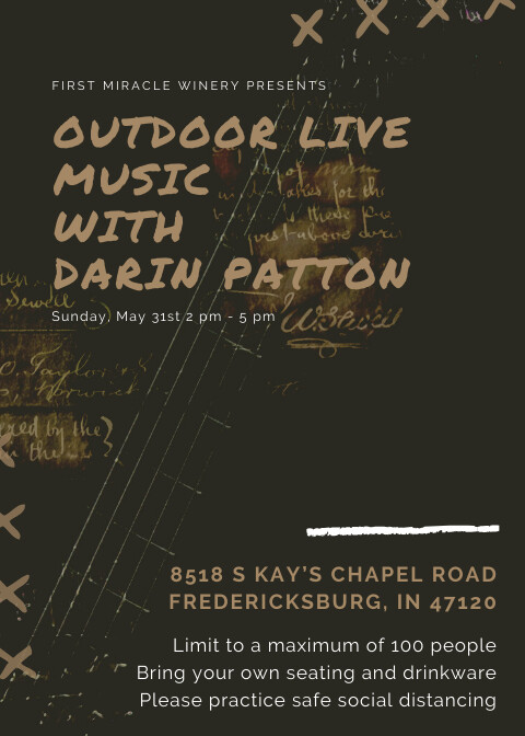 May 31, live music