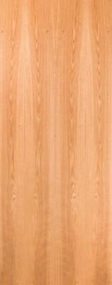 Plain Sliced Red Oak Flush