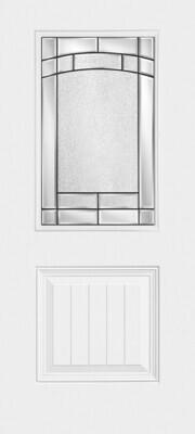 1 Panel Plank Half Lite Element