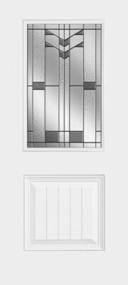 1 Panel Plank Half Lite Frontier