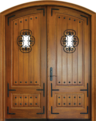 Tiffany Solid Panel with Speakeasy