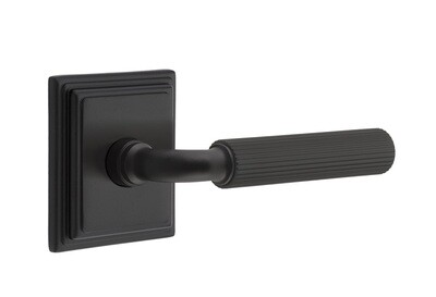 EMTEK SELECT, R-Bar Straight Knurled Lever