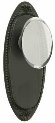EMTEK Oval Beaded Non-keyed Style 7