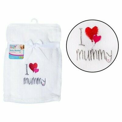 Baby dekentje I Love Mummy
