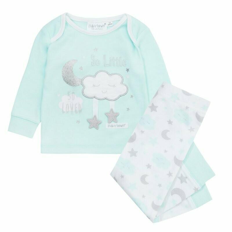 Unisex pyjama met wolkje