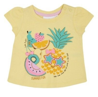 Zomer T-shirt pineapple