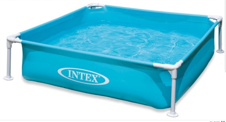 Zwembad Intex blauw: 122x122x30 cm